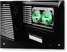 The Green Hornet Black Beauty Clone Car Acrylic Print by Gordon Dean II