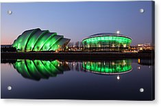 Acrylic Print featuring the photograph The Green Hour by Grant Glendinning