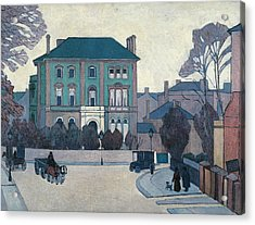The Green House, St John's Wood Acrylic Print by Robert Bevan