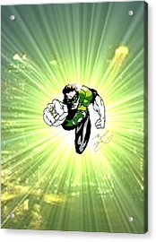 The Green Lantern Acrylic Print