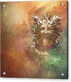 The Green Man Cometh Acrylic Print
