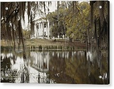 The Greenwoood Plantation Home Acrylic Print