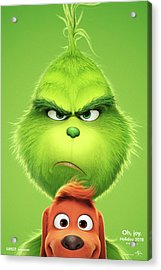 The Grinch 2018 A Acrylic Print
