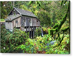 The Grist Mill, Amboy Washington Acrylic Print