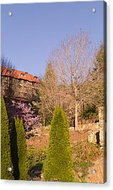 The Grove Park Inn On A Spring Evening Acrylic Print