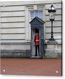The Guard At Buckingham Palace Acrylic Print