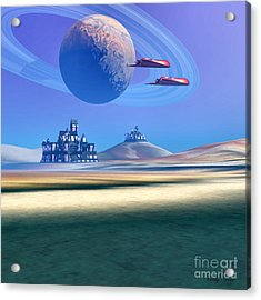 The Guardians Acrylic Print by Corey Ford