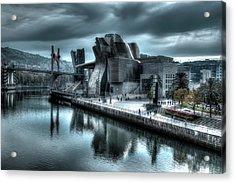 The Guggenheim Museum Bilbao Surreal Acrylic Print