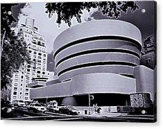 The Guggenheim Black And White Acrylic Print