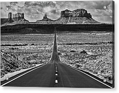 The Gump Stops Here Acrylic Print by Darren White