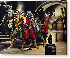 The Gunpowder Plot Acrylic Print