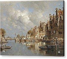 The Haagse Veer, Rotterdam Acrylic Print
