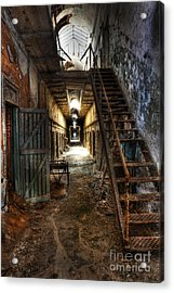 The Hallway Of Broken Dreams - Eastern State Penitentiary - Lee Dos Santos Acrylic Print