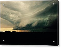 The Hand Of God Acrylic Print
