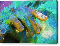 The Hand That Feeds You Acrylic Print by Paul Wear