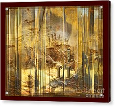 The Hands Of Time Acrylic Print by Chuck Brittenham