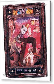 The Hanged Man - Tarot Card Acrylic Print by Max Scratchmann
