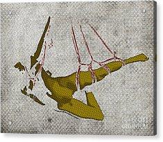 The Hanging Girl I Acrylic Print by Sandra Hoefer