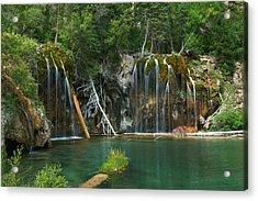 The Hanging Lake Acrylic Print