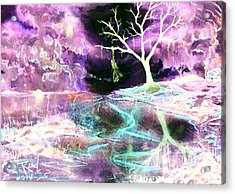 The Hanging Tree Inverted Acrylic Print