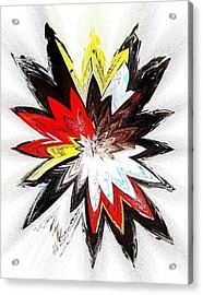 The Happy Asteroids Acrylic Print