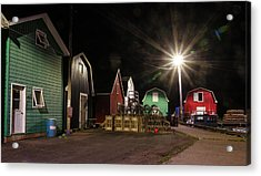 Acrylic Print featuring the photograph The Harbour At French River, Pei. by Rob Huntley