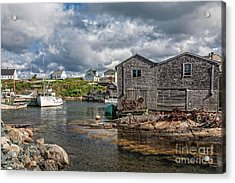 The Harbour Acrylic Print