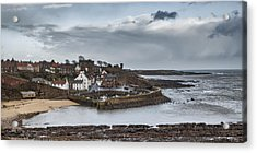 The Harbour Of Crail Acrylic Print by Jeremy Lavender Photography