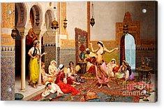 The Harem Dance Acrylic Print
