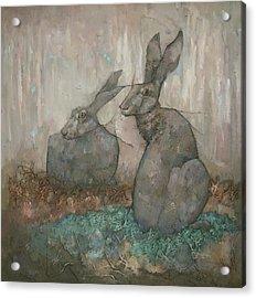 The Hare's Den Acrylic Print