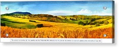 The Harvest Is Plentiful Acrylic Print