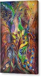 The Harvest Time Acrylic Print by Elena Kotliarker