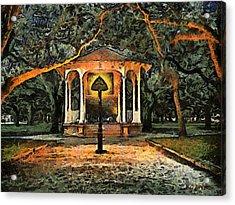 The Haunted Gazebo Acrylic Print