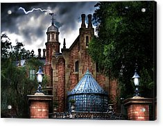 The Haunted Mansion Acrylic Print
