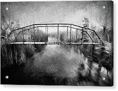 Acrylic Print featuring the digital art The Haunting by JC Findley