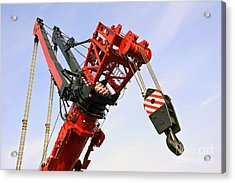 The Head And Primary Hoist Acrylic Print by Corepics