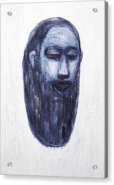 The Head Of Jesus Christ Acrylic Print by Kazuya Akimoto