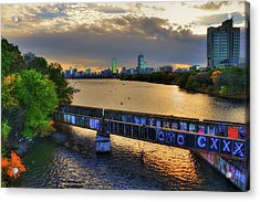 The Head Of The Charles - The Regatta - Boston, Ma Acrylic Print