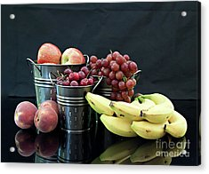 Acrylic Print featuring the photograph The Healthy Choice Selection by Sherry Hallemeier