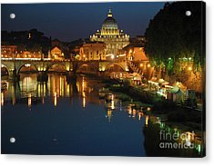 Acrylic Print featuring the photograph Eternal Sound Of Rome by Silva Wischeropp