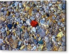 The Heart Of Lake Michigan Acrylic Print