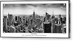 The Heart Of New York Poster Print Acrylic Print