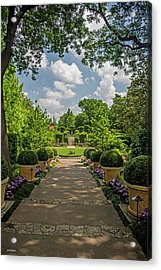 The Heart Of The Arboretum Acrylic Print by Allen Sheffield