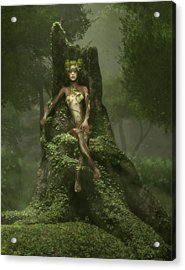 The Heart Of The Forest Acrylic Print