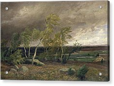 The Heath In A Storm Acrylic Print