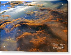 The Heavens Declare #2 Acrylic Print by Lydia Holly