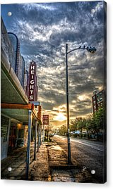 The Heights At Morning Light Acrylic Print
