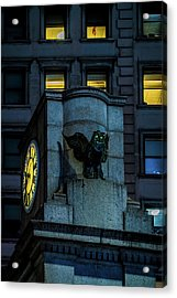 The Herald Square Owl Acrylic Print