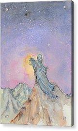 The Hermit Acrylic Print by Jennie Hallbrown