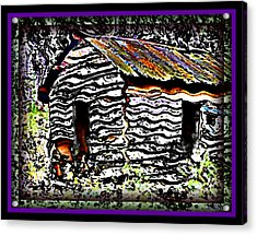 The Hideaway Acrylic Print by Leslie Revels Andrews